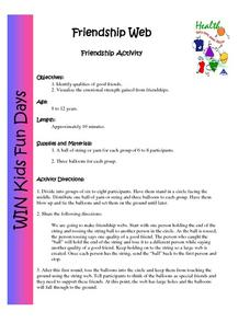 Friendship Web Activities & Project