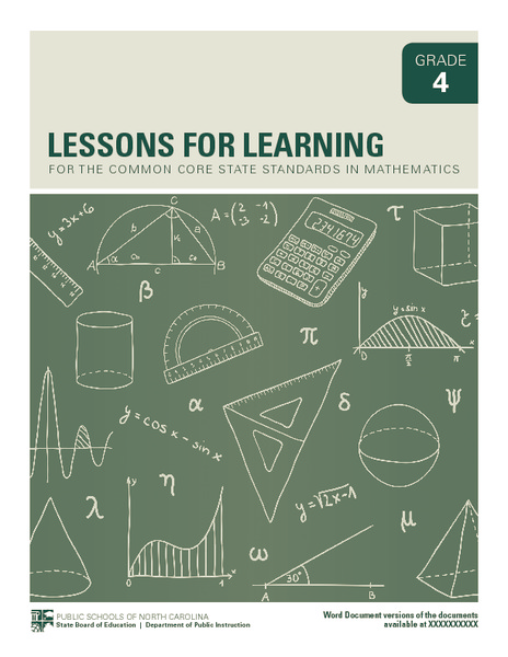 Lessons for Learning—Grade 4 Unit