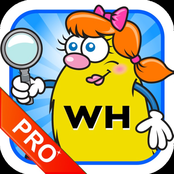 WH Question Cards - Pro: Who, What, When, Where, Why App