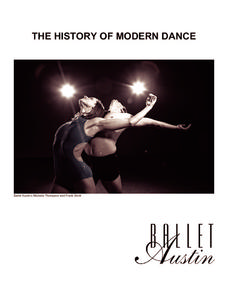 The History of Modern Dance Handouts & Reference