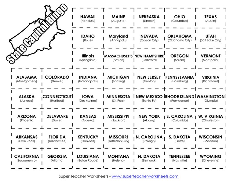 Worksheets State Worksheets collection of free printable states and capitals worksheets capital worksheet rringband
