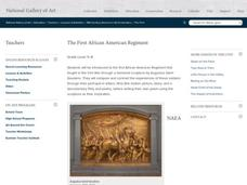 The First African American Regiment Lesson Plan