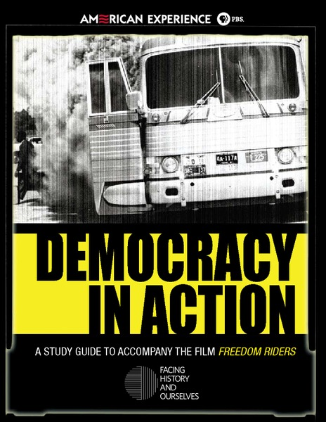 Democracy in Action: Freedom Riders Handouts & Reference
