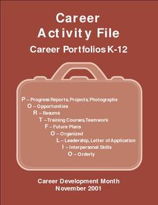 Career Activity File Activities & Project