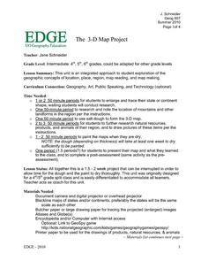The 3-D Map Project Activities & Project