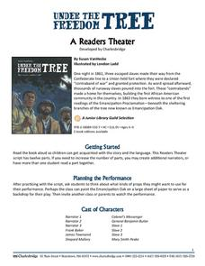 Under the Freedom Tree: A Readers Theater Worksheet