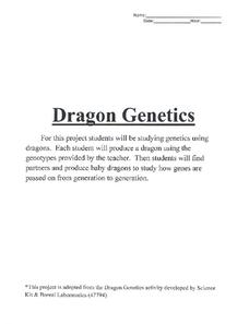 Dragon Genetics Activities & Project