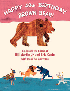 Happy 40th Birthday Brown Bear Activities & Project