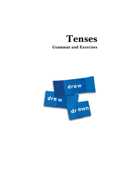 The Verb Tenses Worksheet
