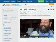 EdTech Tuesdays: Exploring Music in the Classroom with Michael Medvinsky Video