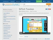EdTech Tuesdays: Make Beliefs Comix Video