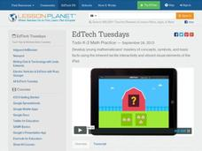 EdTech Tuesdays: Todo K-2 Math Practice Video