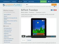 EdTech Tuesdays: Motion Math - Fractions! Video