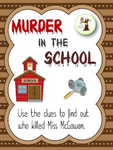 Murder in the School Lesson Plan