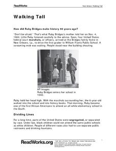 Walking Tall Worksheet