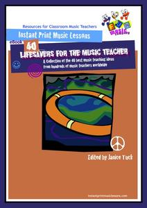 Lifesavers for the Music Teacher Activities & Project