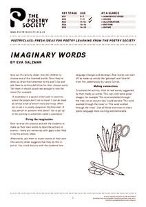 Imaginary Words Lesson Plan