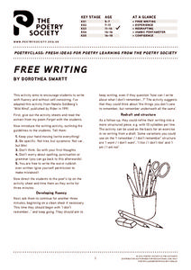 Free Writing Writing Prompt
