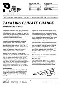 Tackling Climate Change Lesson Plan