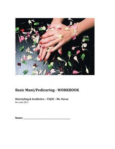 Basic Mani/Pedi Workbook Activities & Project