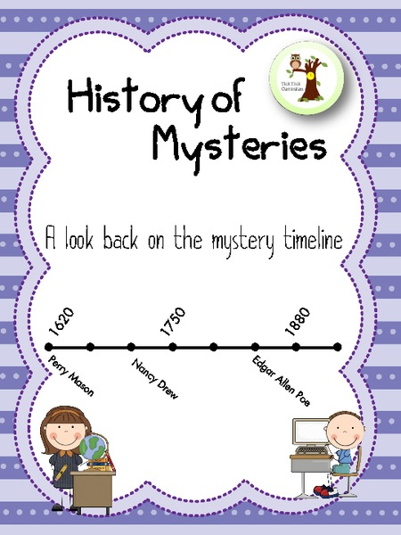 The History of Mysteries Lesson Plan