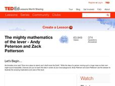 The Mighty Mathematics of the Lever Video