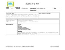 Model the Way Lesson Plan