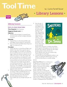 Tool Time: Library Lessons Lesson Plan