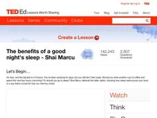 The Benefits of a Good Night's Sleep Video
