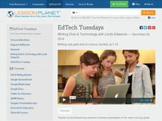 EdTech Tuesdays: Writing Club & Technology with Linda Edwards Video