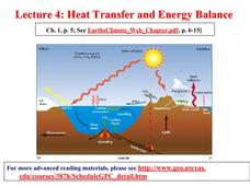 Heat Transfer and Energy Balance Presentation