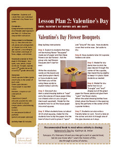 Valentine's Day Flower Bouquets Lesson Plan