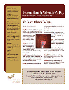My Heart Belongs To You! Lesson Plan