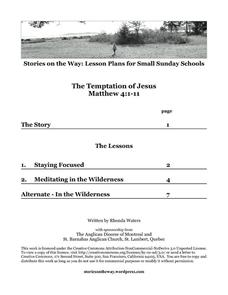 The Temptation of Jesus Lesson Plan