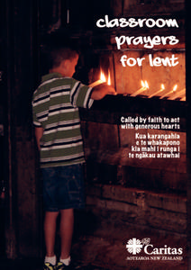 Classroom Prayers for Lent Activities & Project