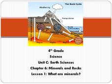 What Are Minerals? Presentation