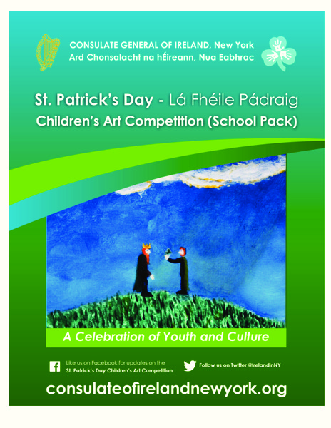 St. Patrick's Day - Lá Fhéile Pádraig Activities & Project