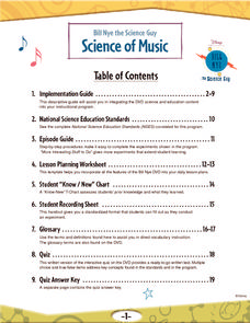 Science of Music Lesson Plan