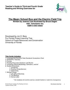 The Magic School Bus and the Electric Field Trip Graphic Organizer