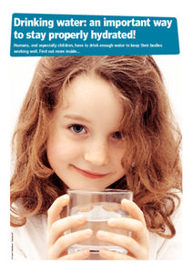 Drinking Water: An Important Way to Stay Properly Hydrated! Handouts & Reference
