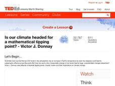 Is Our Climate Headed for a Mathematical Tipping Point? Video