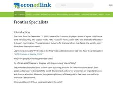 Frontier Specialists Lesson Plan