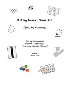 Building Number Sense Activities & Project