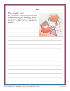 The Magic Egg Writing Prompt