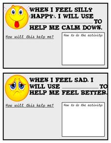 When I Feel... Printables & Template