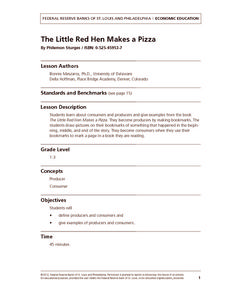 The Little Red Hen Makes a Pizza Lesson Plan