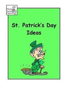 St. Patrick's Day Ideas Activities & Project