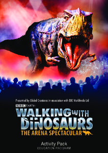 Walking with Dinosaurs Activities & Project