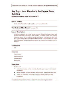 Sky Boys: How They Built the Empire State Building Lesson Plan