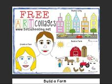 Free Art Collages Printables & Template